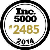 Inc. 5000 Seal #2485 Year 2014